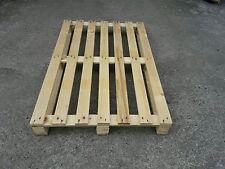 NUOVO Bancale in legno 120x80 Pedana Pallet  modello B1 a 7 liste mm. 17x75