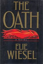 """ELIE WIESEL """"The Oath"""" (1973) SIGNED First Printing HARDCOVER in Dust Jacket"""