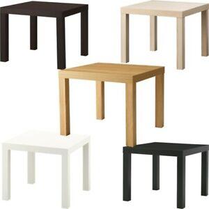 Ikea LACK Small Side Table Bedroom Hallway Tea Coffee Drink Home Office 55x55cm