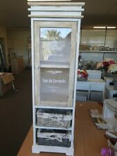 SPECIAL Washed Nature White Wooden Display/Storage/glass Door(Not WA/NT)