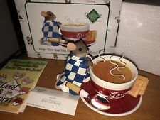 """Charming Tails """"HOPE THIS HAS YOU FEELING SOUPER SOON""""   DEAN GRIFF NIB SOUP"""