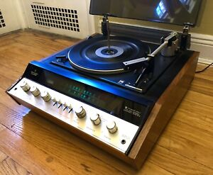 Rare Model Kenwood Turntable Tuner Vintage KS-606P Integrated Compact System
