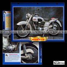 #117.08 Fiche Moto MOTOCONFORT 175 U 26C U26C U26 C 1957 Classic Motorcycle Card