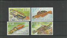 FIJI SG1355-1358 FRESHWATER GOBIES SET MNH