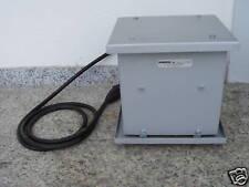 Trafo Transformator Fa. Transreg pri. 220 V 100 V +10 -25 V sek. 110 V 1200 VA