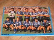 POSTER INTER CAMPIONE D'ITALIA 1988/89 ZENGA BERGOMI @