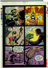 DINOSAURS FOR HIRE Sp page 6 Malibu Color Acetate Separation Comic Art page {60}