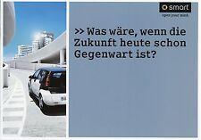 5014SMA Smart forfour Prospekt 2004 3/04 deutsche Ausgabe brochure broszura