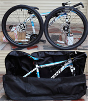 """Folding Bike Cycling Luggage Bag 29"""" Bicycle Carrier Outdoor Travel Storage Bag"""