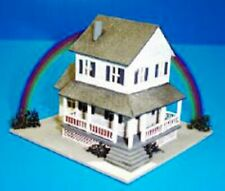Dollhouse Miniature Auntie Em's Farmhouse Kit - 1:144 Scale (ds)