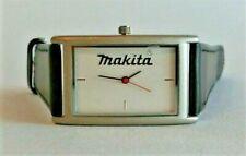 Rarität Makita Armbanduhr Lederarmband