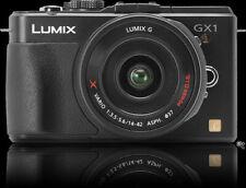 PANASONIC LUMIX DMC-GX1X 16 MP Micro 4/3 Mirrorless Digital Camera (BLACK)
