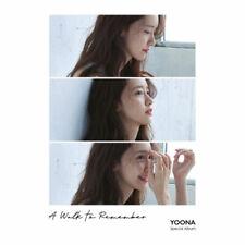 윤아 | YOONA SPECIAL ALBUM [ A WALK TO REMEMBER ] CD+BOOKLET+PHOTO CARD  SNSD