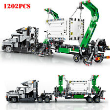 1202pcs Big Truck Vehicles Car Building Blocks Toys City Engineering Mark