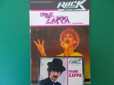 FRANK ZAPPA- MUSICASSETTA K7 TAPE++BOOK STORIA DEL ROCK NO LP NO CD