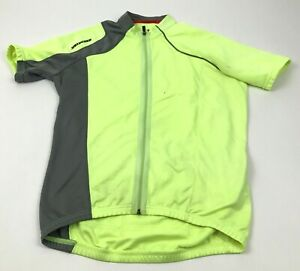 Specialized Cycling Jersey Size Size Medium M Shirt Green Full Zip Short Sleeve