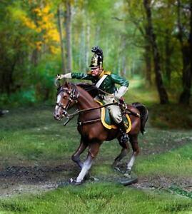 COLLECTORS SHOWCASE NAPOLEONIC RUSSIAN CS01004 KHARKOV MOUNTED DRAGOON CHARGING