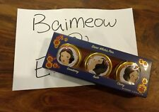 HOLIDAY BESAME Snow White Pies DISNEY EXCLUSIVE 3 BALM TRIO SET Disney princess