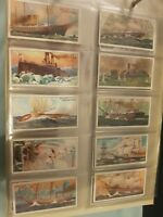 Celebrated Ships (1911) Wills Cigarette Cards  - choose your own