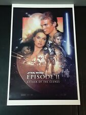 Star Wars: Episode II Attack of The Clones Movie Poster 11x17 13x19