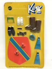 VINTAGE 1971 BARBIE ACCESSORIES - KEN/BRAD BEACH BEAT SET #3384 - NEW ON CARD