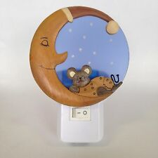 Night Light LED Various Design - UK Plug in Mouse on The Moon