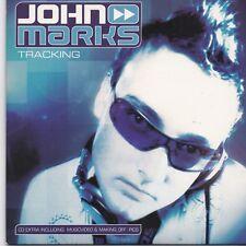 John Marks-Tracking cd maxi single 8 tracks cardsleeve