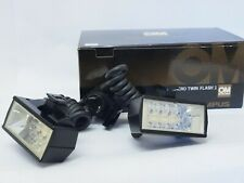 Olympus T28 Macro Twin Flash I, Boxed for OM Film Cameras. Stock No u9869