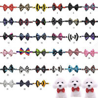 Whosale 10-200 PCS Pet Bow Tie Puppy Accessories Dog Collar Yorkie Bow Neck Ties