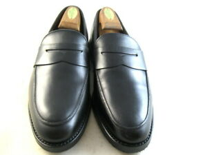 NEW Brooks Brothers Penny Loafers  8 D (Right) and 8 E (Left) Black  (38)