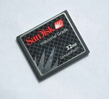 32MB SanDisk CF Card +ATA PC Adapter = 32M PCMCIA Flash Disk For JANOME Machines