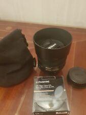 Nikon 50mm F/1.4G AF-S Lens with Polaroid CPL Filter
