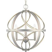 Progress Lighting Brandywine Collection 3-Light Silver Ridge Pendant