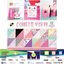Diecuts Paper Stack 12x12 Confetti Party