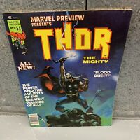 MARVEL PREVIEW Magazine #10 - 1977 | THOR | Collectible