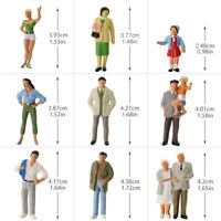 P4306 20pcs O Gauge Passenger People1:43 Scale Painted  Standing Figures