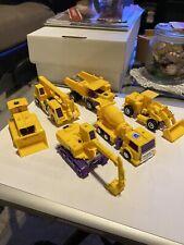 1993 Transformers G2 Contructicons Complete And Transform Into Devastator