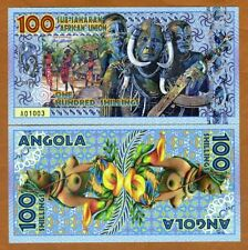 Sub-Saharan African Union 100 Shillings 2019 Private Issue Polymer > Tribal Nude
