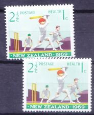 New Zealand 1969 MNH Without Gum, Lot, Cricket, Sports