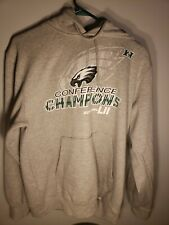 Majestic Philadelphia Eagle Hooded Sweatshirt Conference NFC Champions Size: M