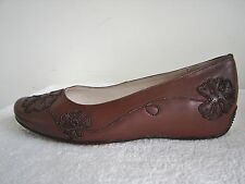 Lotus Whirl Brown Leather Low Heeled Shoe Size 3 EU 36 D Fitting