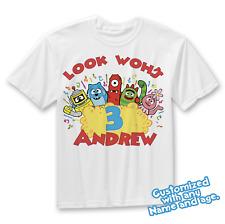 Yo Gabba Gabba Birthday Shirt Customized Name and Age Yo Gabba Gabba Shirt