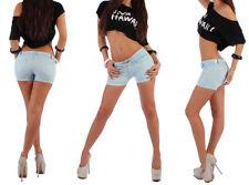 Shorts, bermuda e salopette da donna in cotone taglia 40
