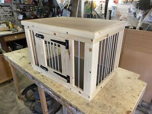 indoor dog kennel flat pack delivery included Please Enquire