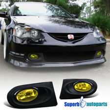 2002-2004 Acura RSX DC5 Type-S Driving Fog Lights W/Switch Yellow