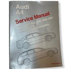 Shop Manual A4 Service Repair Audi Bentley Book Quattro Avant 1.8 2.8L 1996 2001