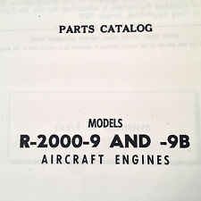 Pratt & Whitney Twin Wasp R-2000-9 and R-2000-9B Parts Manual