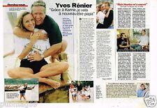 Coupure de presse  Clipping 1997 (2 pages) Yves Rénier