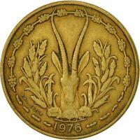 Monnaies, West African States, 25 Francs, 1976, Paris, TTB #426862