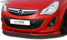 Vauxhall Corsa D Facelift OPC-Line 2010+ Front Splitter Vario PUR Plastic
